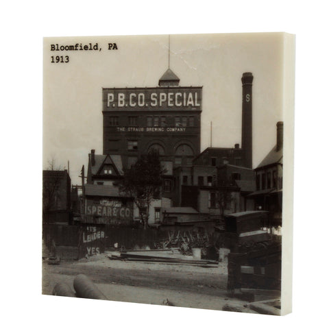 Bloomfield, PA - Straub Brewing Company 1913 Coaster - 318