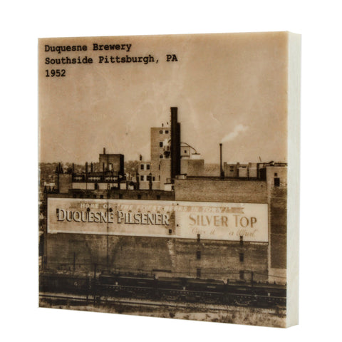 Duquesne Brewery 1952 Coaster - Southside Pittsburgh - 316