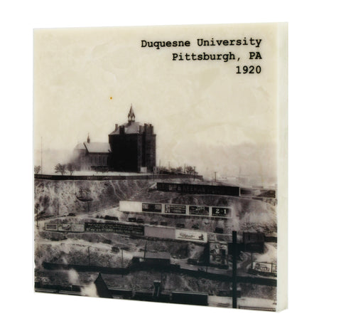 Duquesne University, Pittsburgh PA, c. 1920 Drink Coaster - 325