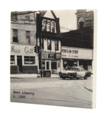 East Liberty c. 1960 Pittsburgh, PA Drink Coaster - 327