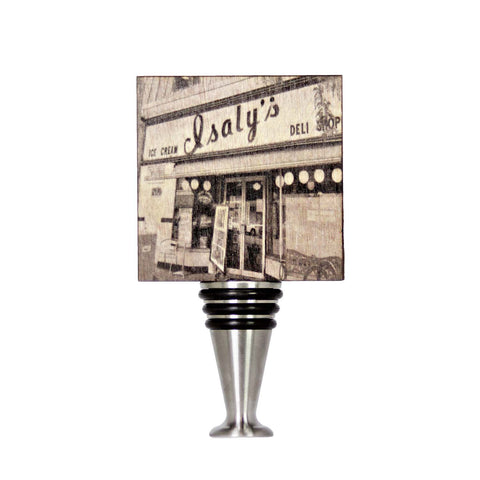 Isaly's West View Wine Stopper - WS107