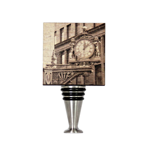 Kaufmann's Clock Wine Stopper - WS054