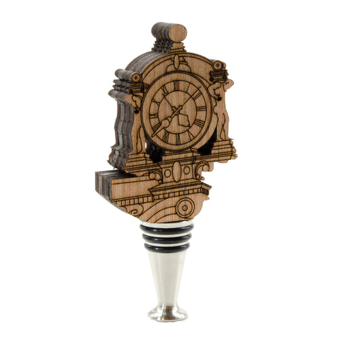 Kaufmann's Clock Wine Stopper