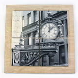 Kauffman's Clock Drink Coaster Set - DCS054