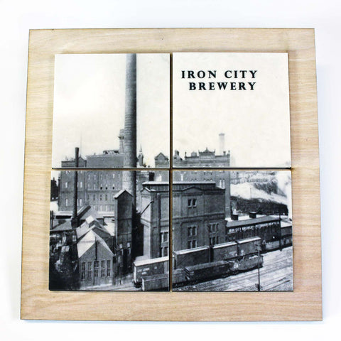 Iron City Brewery Drink Coaster Set - DCS098