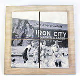 Iron City Swimming Pool Drink Coaster Set - DCS099