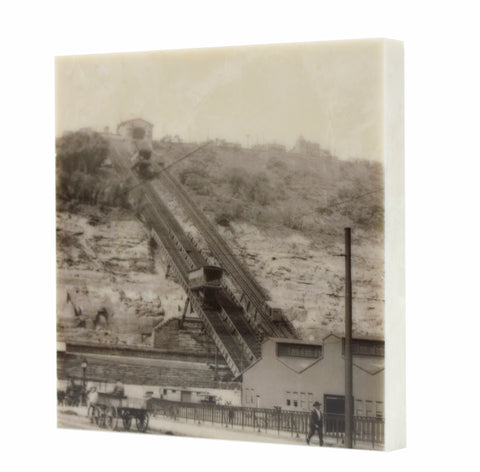 Monongahela Incline Drink Coaster - Pittsburgh, PA - 061