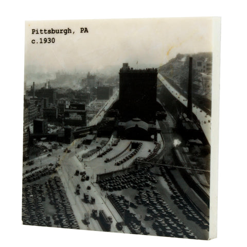 Pittsburgh, PA c. 1930 Coaster - 323