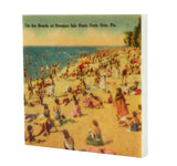 Presque Isle Beach, Erie PA Drink Coaster - E22