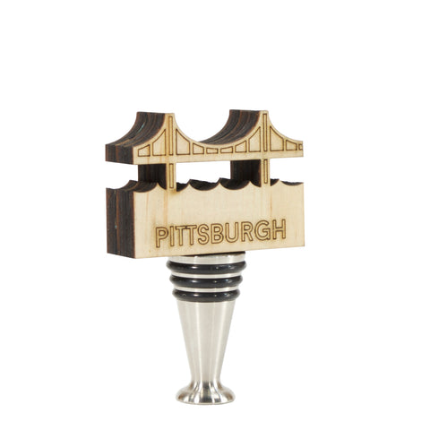 Pittsburgh Bridge Wine Stopper - WS551