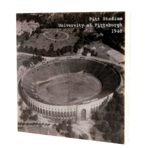 Pitt Stadium Drink Coaster - Pittsburgh, PA - 348