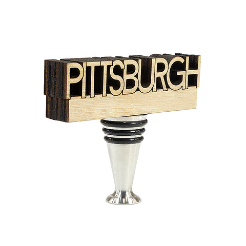 Pittsburgh Wine Stopper- WS557