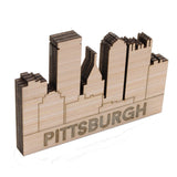 Pittsburgh Skyline Name Block