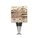 Roller Coaster at West View Park Wine Stopper - WS058