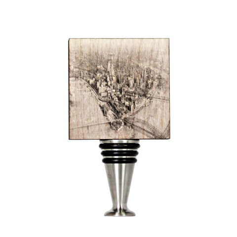 The Point 1950's Wine Stopper - WS038