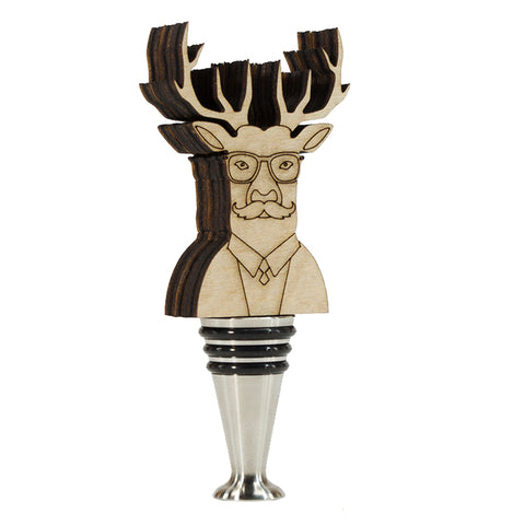 Deer Wine Stopper- WS13