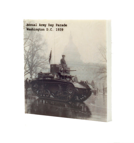 1939 Army Day Parade Drink Coaster - 615