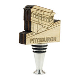 Pittsburgh Incline Wine Stopper- WS554
