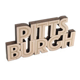 Pittsburgh Name Block