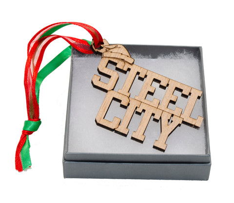 Steel City Ornament- 563