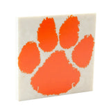 Sharon High School Tiger Paw Drink Coaster