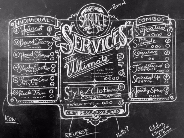 Second iteration of Menu of Services