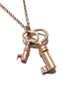 Two Keys Necklace