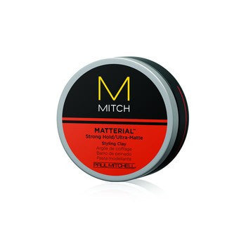Mitch Matterial Strong Hold/Ultra-Matte Styling Clay - 3 oz.