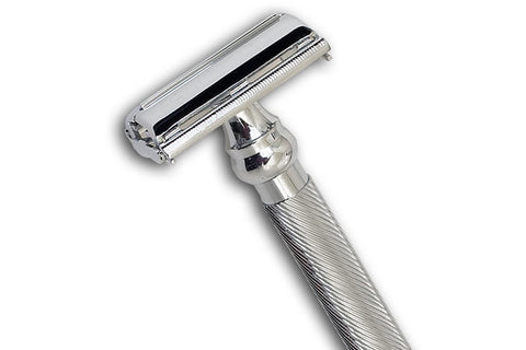 Super Heavyweight Chrome Butterfly Open Razor