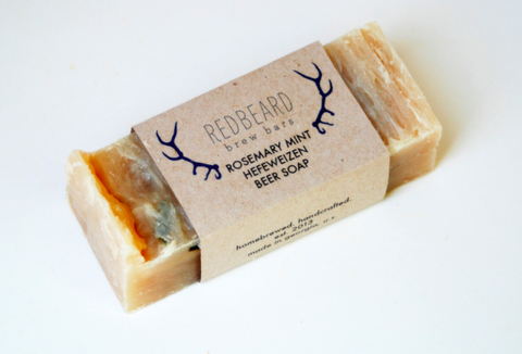 Rosemary Mint Hefeweizen Soap