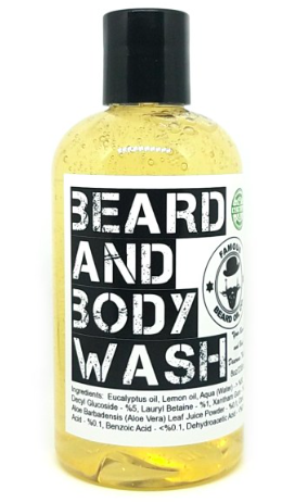 Organic Beard and Body Wash