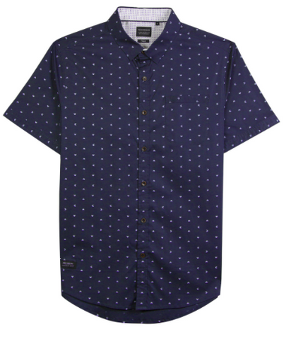 Rising Water SS Button Down