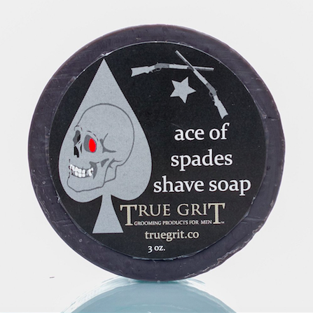 Ace of Spades Shave Soap