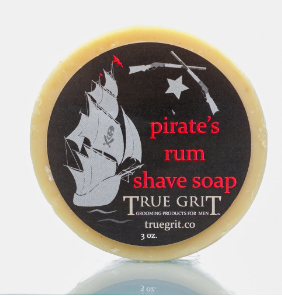 Pirates Rum Shave Soap