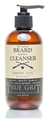 Peppermint-Tea Tree Beard Cleanser