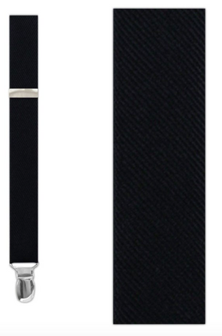 Grosgrain Solid Suspenders