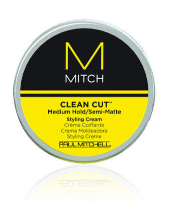Mitch Clean Cut Medium Hold/ Semi-Matte Styling Cream - 3 oz.