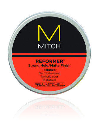 Mitch Reformer Strong Hold/Matte Finish Texturizer - 3 oz.