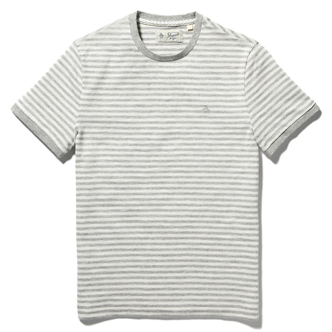 Slub Feeder Stripe Tee