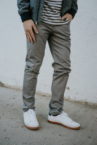 105 Light Gray Denim