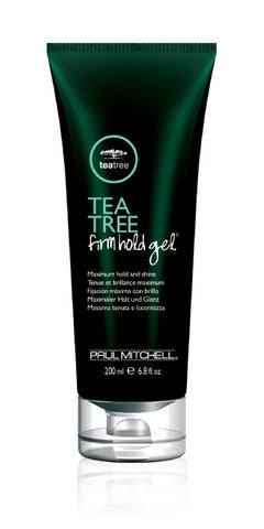 Tea Tree Firm Hold Gel Maximum Hold and Shine