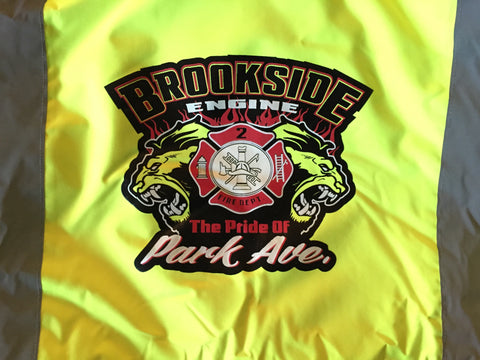 Custom Safety Jacket Uniondale Fire Department |Global Construction Supply