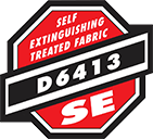 Self Extinguishing Treated Fabric |Global Construction Supply