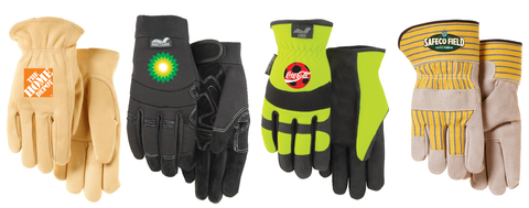 Full Color Heat Transfer - Glove Customization | Global Construction Supply