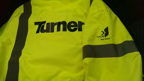 Custom logo safety jackets |Global Construction Supply