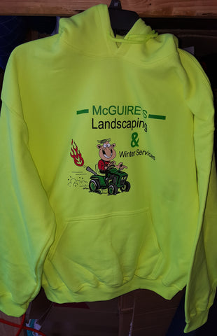 Custom Hoodies McGuire Landscaping |Global Construction Supply