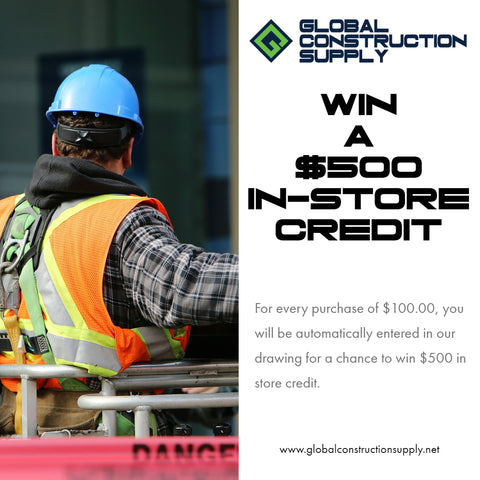 Global Construction Supply Win $500 in store credit