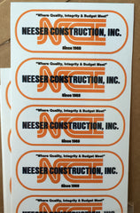 Custom Hard Hat Decals | Global Construction Supply