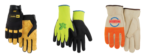 Spot Color Heat Transfer - Glove Customization | Global Construction Supply