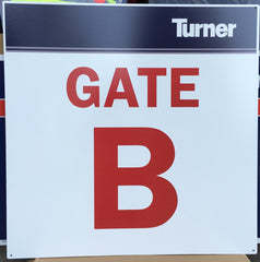 Custom Gate Safety Sign |Global Construction Supply